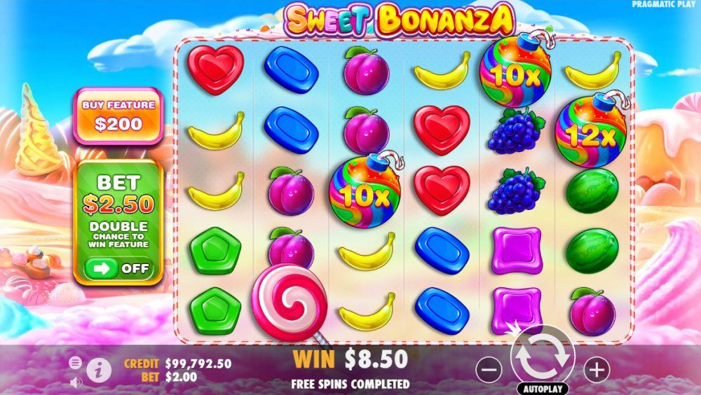 Sweet Bonanza bombs